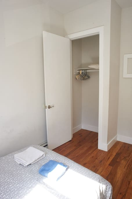 Full sized closet