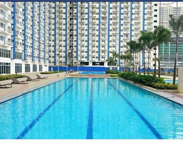 1Bedroom cozy unit in Light Residences w/ SM Mall
