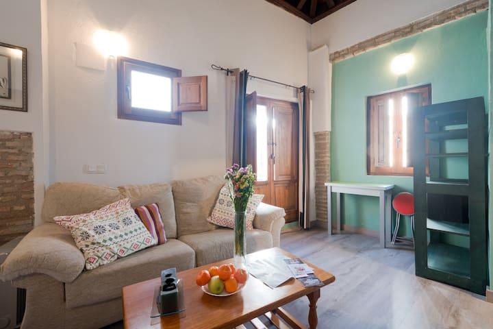 Estudio en pleno centro entre Catedral y Albaycín - Granada - Appartement