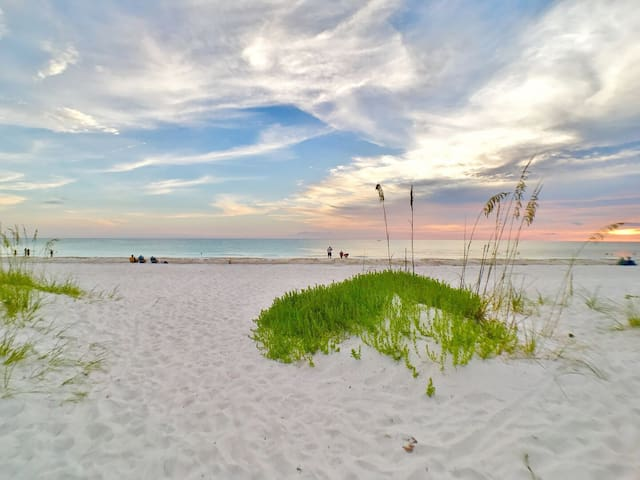 Walk to the Beach and More from this Renovated Anna Maria Island Rental