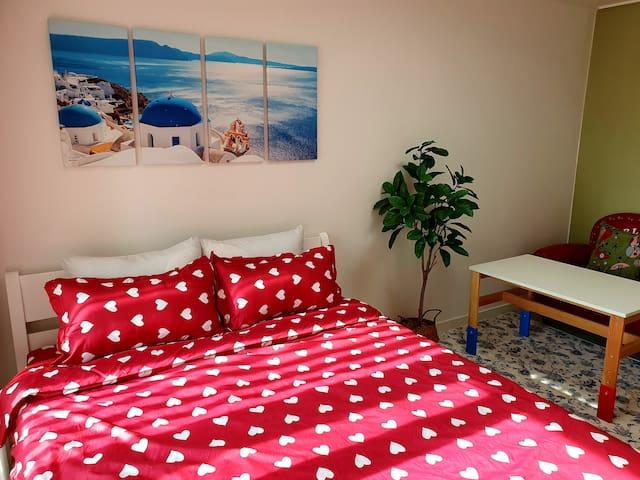 <Viaggio>좋은 사람과 좋은 여행!! 깔끔하고! 따뜻한 집♡