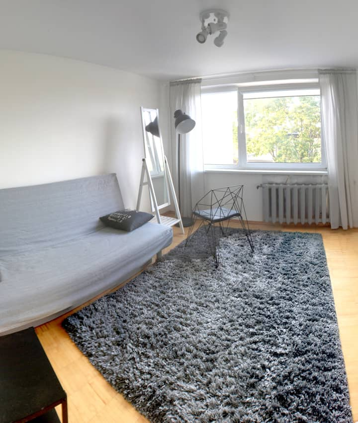 Peaceful room in Vilnius New Town
