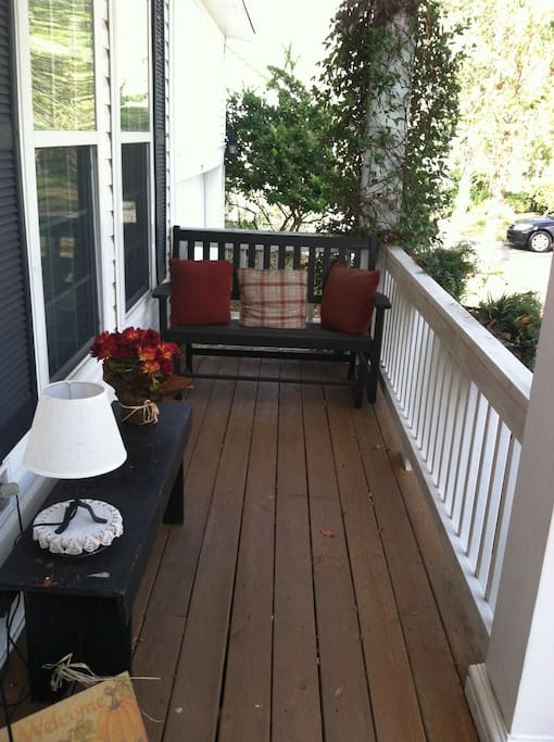 Southern homes must have an inviting front porch.