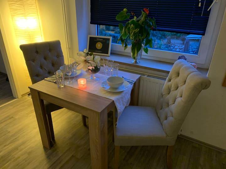 Lütt Hamburg, neue moderne Wohnung an der Elbe