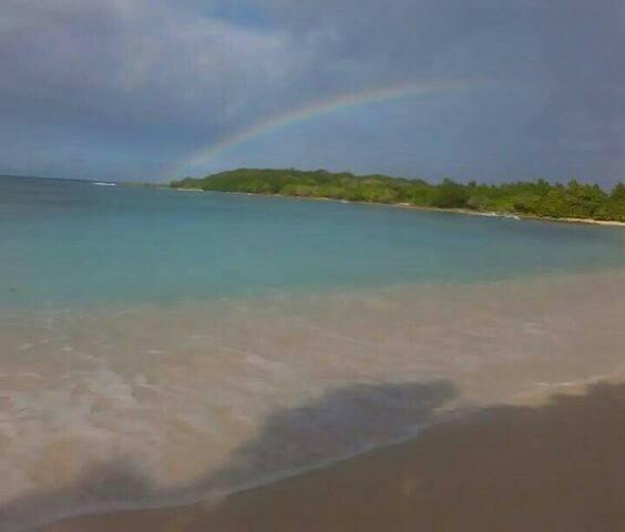 Espace partagé 5min de la plage - Port-Louis