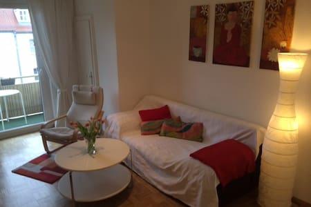 Charmante  2-Zimmer mit Balkon - Apartment