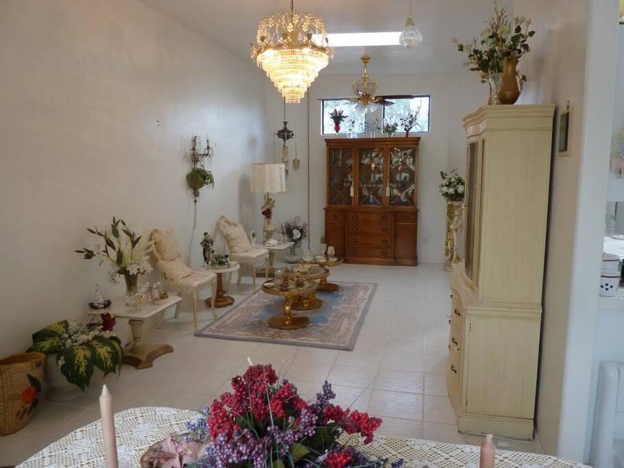 Formal Living room/We adjust Furniture to needs