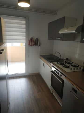 Appart Agen 70m²+7m² terrasse 2-6 pers 2 chambres