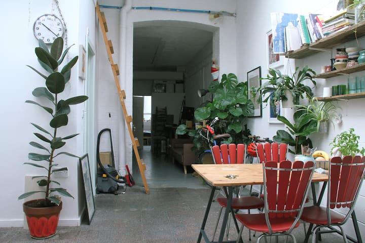 Room in Artist Studio