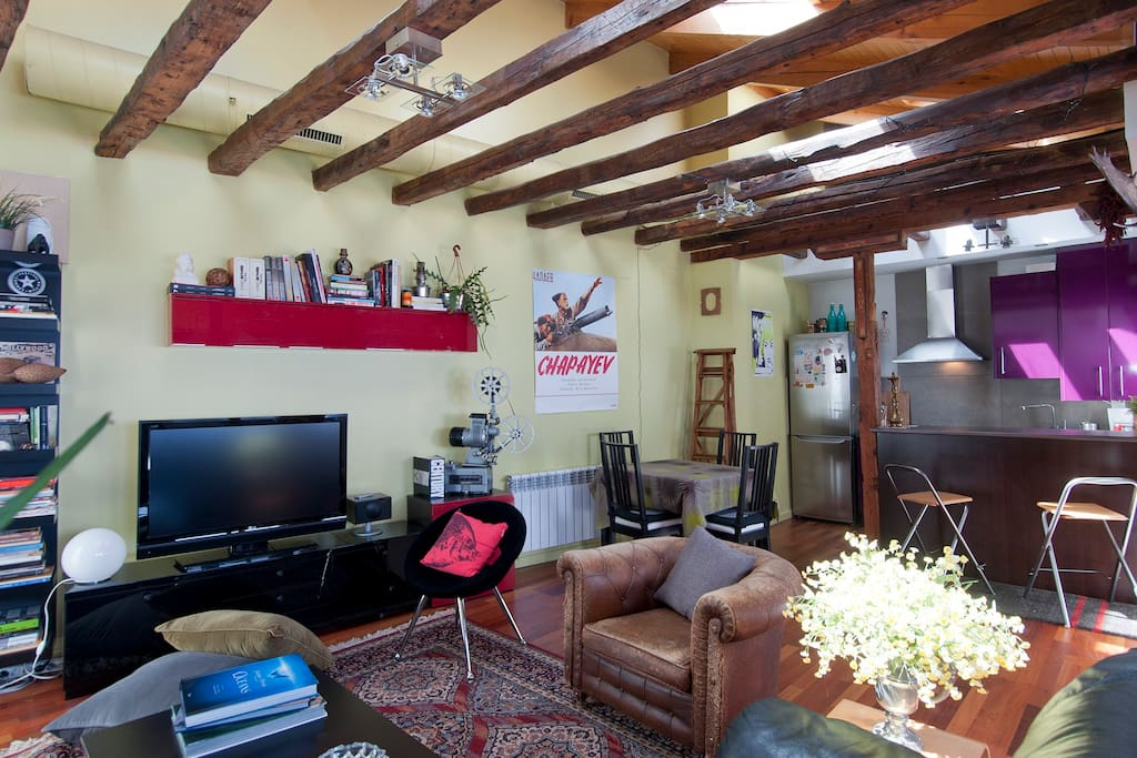 Special penthouse in the heart of la latina apartments - The penthouse madrid ...