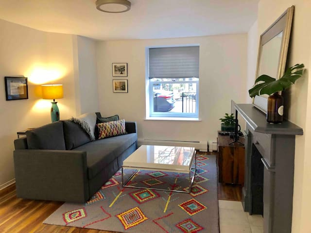 1 BR in a renovated Brownstone with private entry