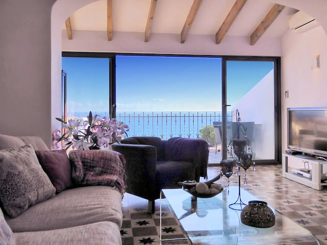 Spectacular house,  great sea views  top location - Altea - Hus