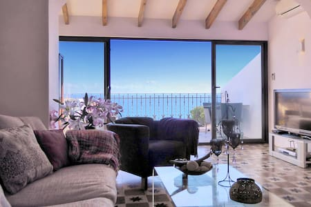 Spectacular house,  great sea views  top location - Altea - Hus
