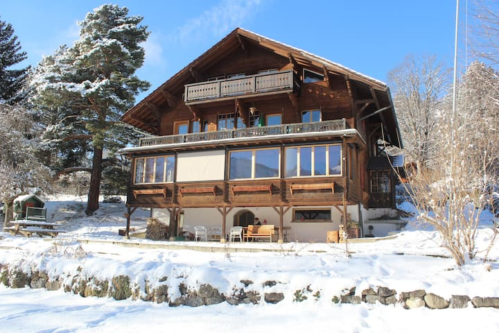 Spacious, Bright and Cosy Chalet, Garden - Gryon