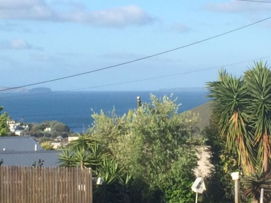 View from East Coast Rd to Mairangi Bay
