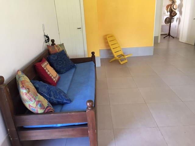 Sala de estar/dormitório