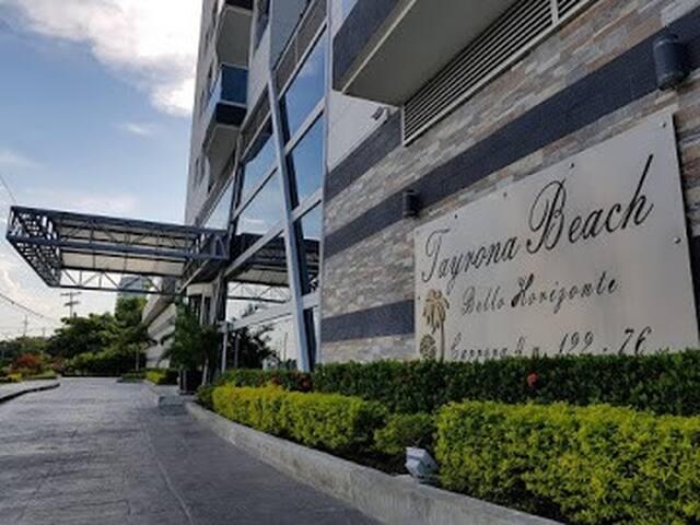 Hermoso apartamentocon vista al mar tayrona beach