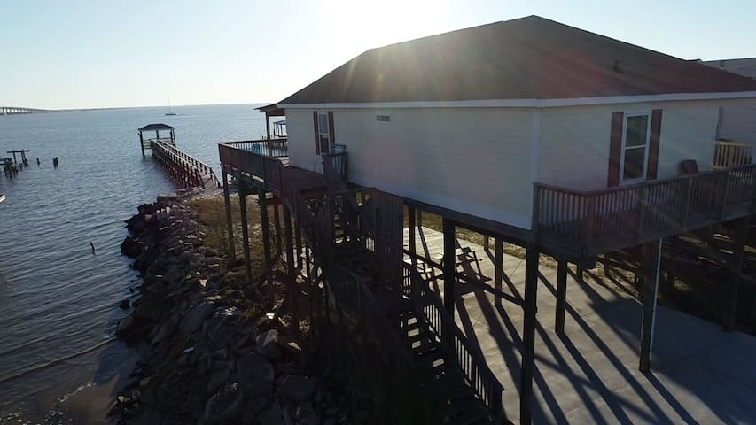 Lakefront Home w/ Private Pier and Dock