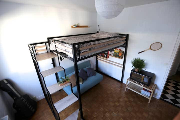 Chambre en plein centre-ville de Quimper
