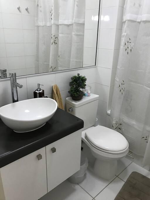 Baño Personal, con ducha