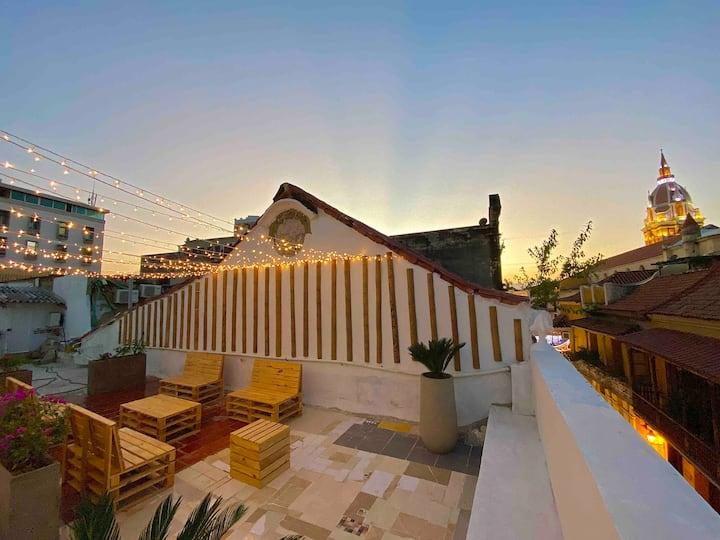 Espectacular Apartamento En El Centro Con Terraza