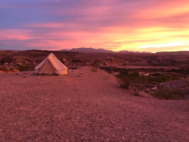 Luxury Camping Tent Rental - Glamping Package - NV