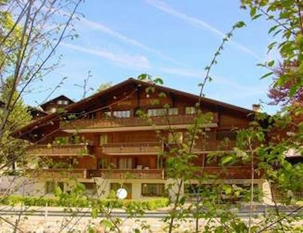 Cozy apartment with parking in Gstaad - Saanen - Lägenhet
