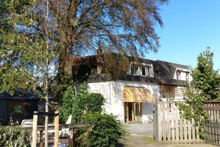 Ruime bovenwoning nabij Wageningen