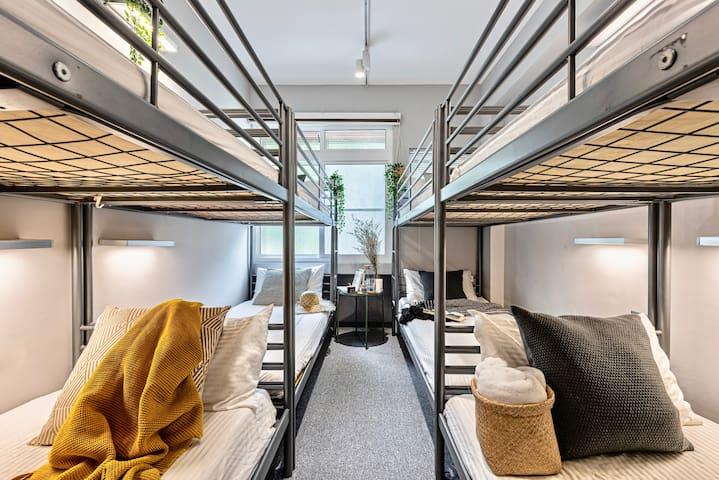 8 床宿舍房的 1 個床位 (Bed in 8-Bed Dormitory Room