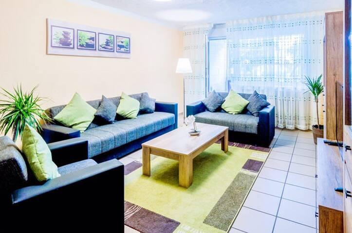 """85 qm Wohnung """"Luisa"""" mit großem Balkon"""