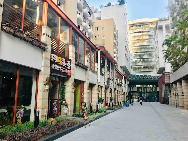 〔VASAI #1BR in 3BR APT〕Shenzhen Window of the Wold