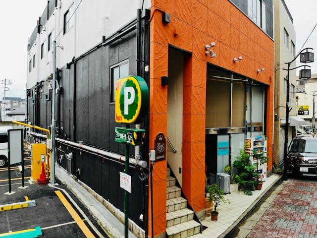 NEW!!新宿商业圈!!※歌舞伎町/东京都厅至近※车站步行7分特色传统商店街上舒适家庭A01号房