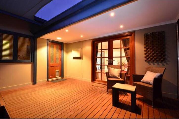 Lovely weatherboard character home, wish mod twist