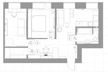 План квартиры/ appartment plan