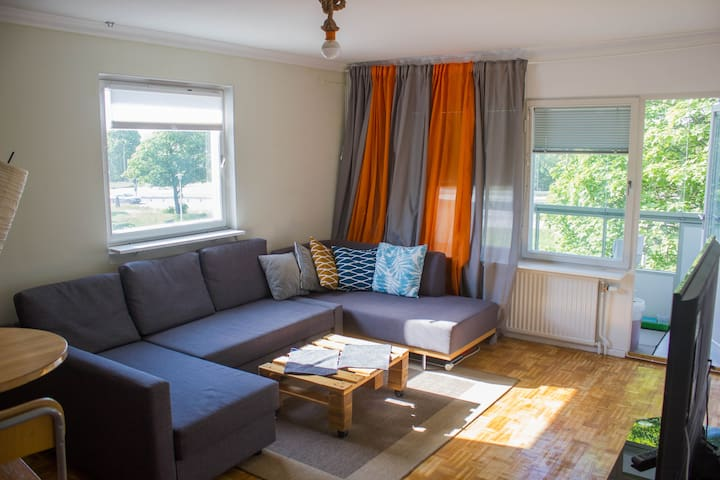 Place for up to 4 people in Ulriksdal