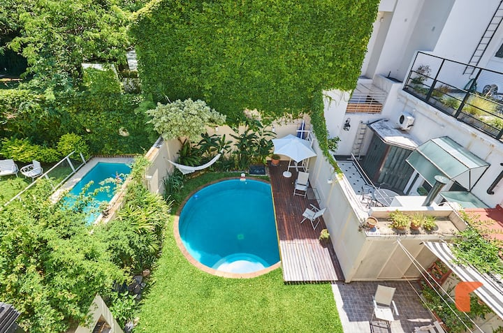 """Charming Belgrano """"R""""esidencial House With Pool"""