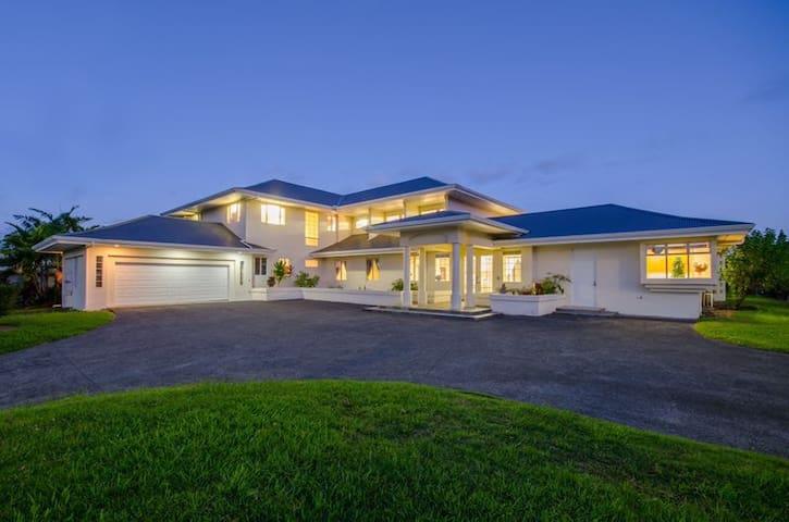Amazing Beautiful Mansion at Hilo