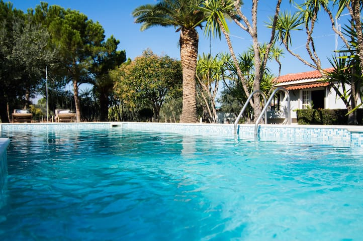 Country Villa Peloponnese with tennis court, pool