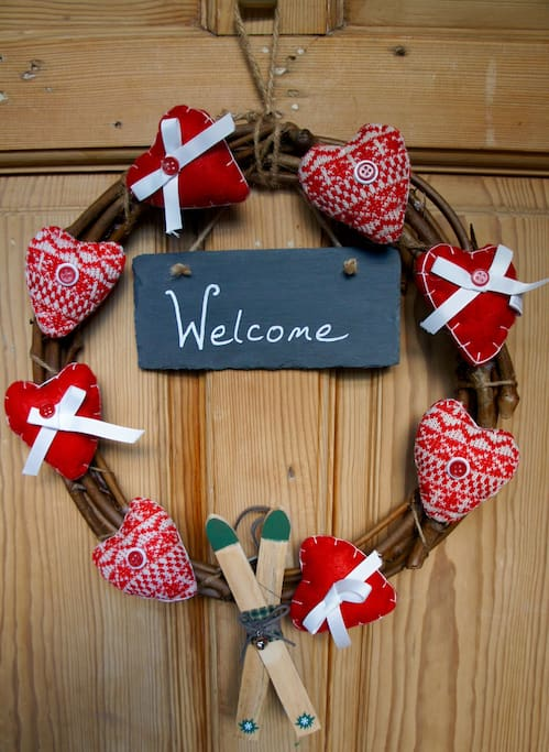 A warm welcome awaits at Granite Cottage.