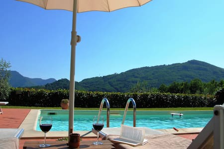 your apartement in vineyhard and olivegrove - Bagni di Lucca - Byt