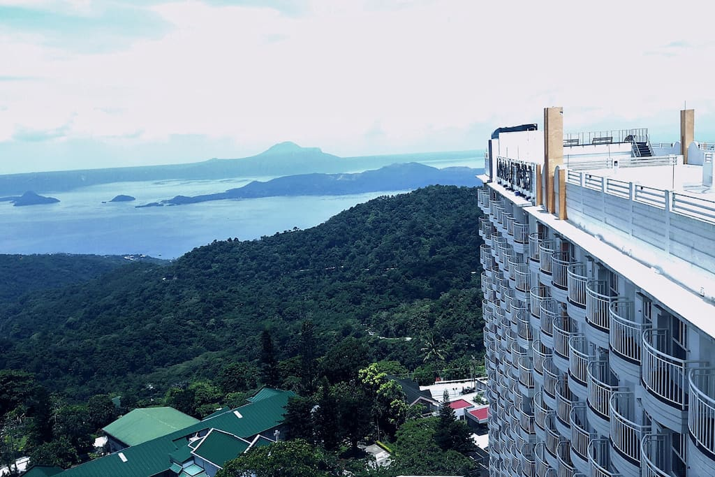 My place is Cityland prime condo & Great view of Taal lake