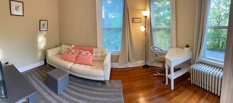 Bright, Freshly Renovated Apartment. Great Access!