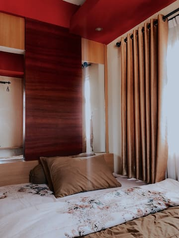 3x3 m Master Bedroom