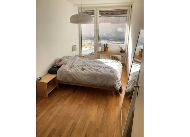 Private room in cozy and bright flat in Kleinbasel