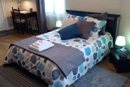 Suite spacieuse et tout confort à 7mn du centre. - Orléans - Bed & Breakfast