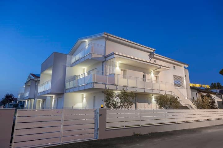 Luminoso,ampio,elegante appartamento a Igea Marina