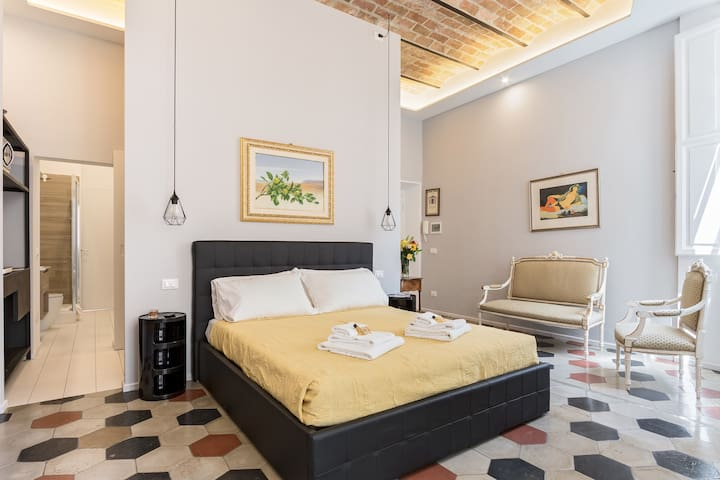 Stylish Open Space Ripa - for 2 in Trastevere!