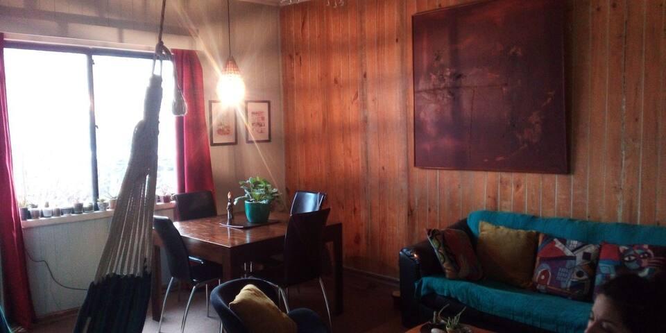 Habitación Pleno Centro, en Casa Bella y Acogedora