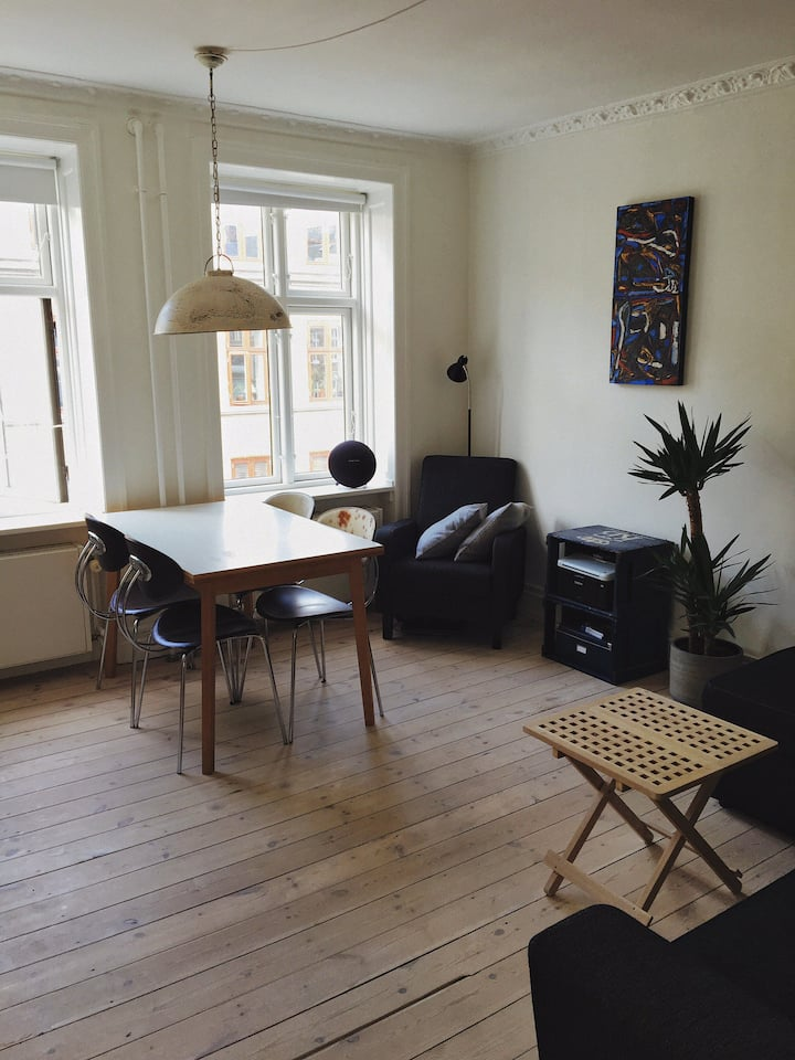 New apartment in central Copenhagen