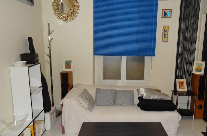 Cozy&safe flat | Ground floor | Close to metro !